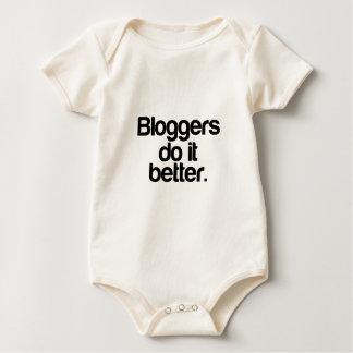 Bloggers do it better baby bodysuit