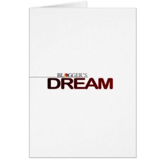 Bloggers Dream Card