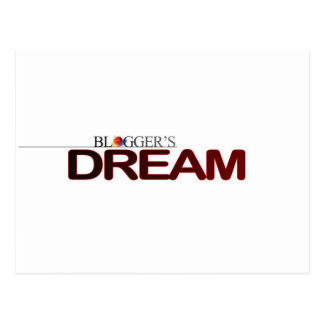 Bloggers Dream Postcard