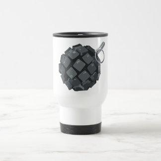 Bloggers grenade mugs