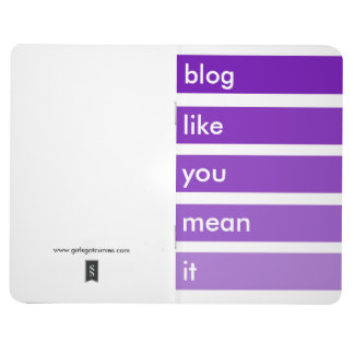 Bloggers notepad journal