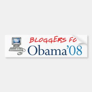 Bloggers para la pegatina para el parachoques de O Pegatina Para Auto
