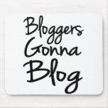 Bloggers que van al blog Mousepad