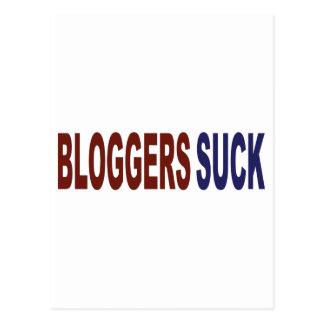 Bloggers Suck Postcard