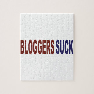 Bloggers Suck Jigsaw Puzzles