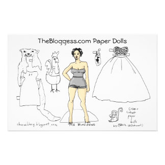Bloggess paper-dolls (by fattieart) stationery