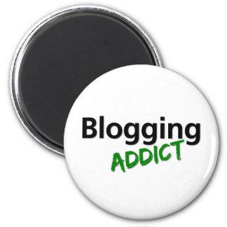 Blogging Addict 2 Inch Round Magnet