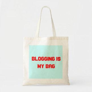 Blogging bag - a bag for bloggers