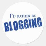 Blogging bastante etiqueta