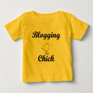 Blogging Chick Baby T-Shirt