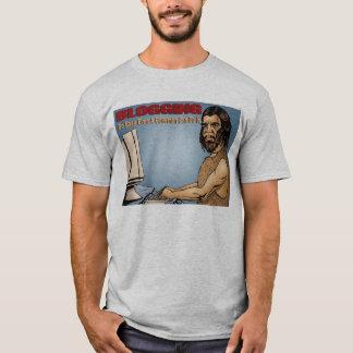 Blogging So Easy Even a Caveman Ca Do it T-Shirt