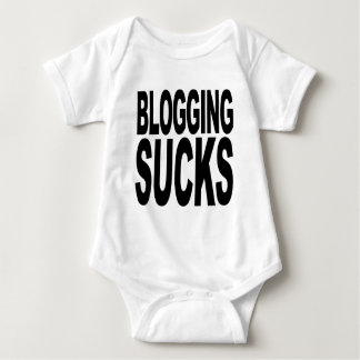 Blogging Sucks Baby Bodysuit