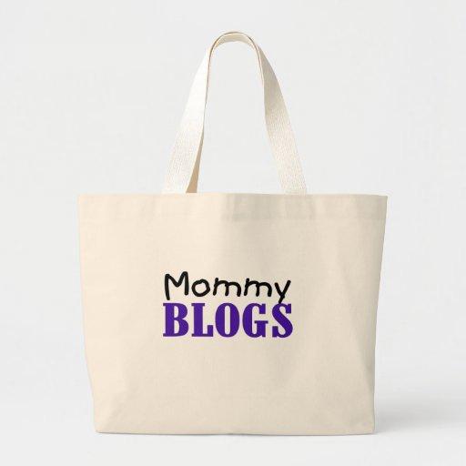 Blogs de la mamá bolsa tela grande