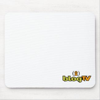 BlogTV Mouse Pad (White)