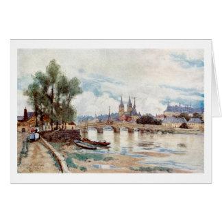 Blois, France Card