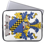 Blok Family Crest Computer Sleeves