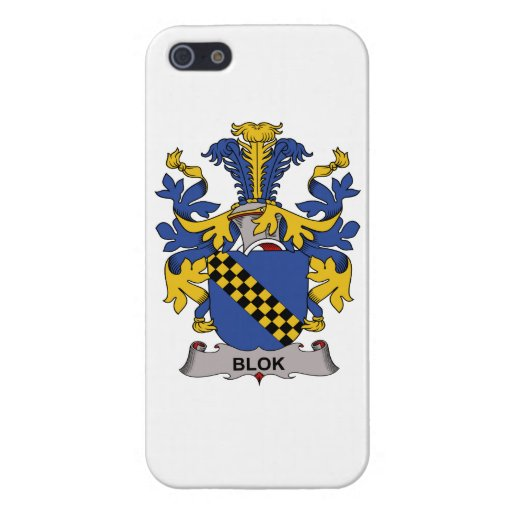 Blok Family Crest Cover For iPhone 5