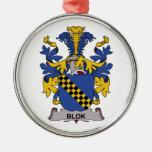 Blok Family Crest Ornaments