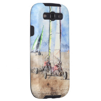 Blokart Racers on the Beach Galaxy S3 Cover