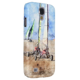 Blokart Racers on the Beach Galaxy S4 Cases