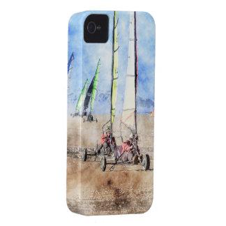 Blokart Racers on the Beach iPhone 4 Case