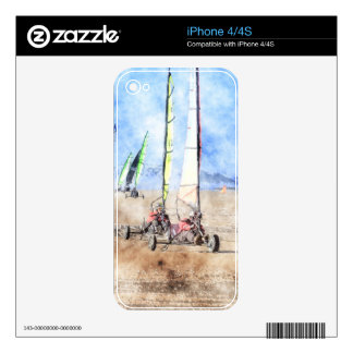 Blokart Racers on the Beach Skin For The iPhone 4S