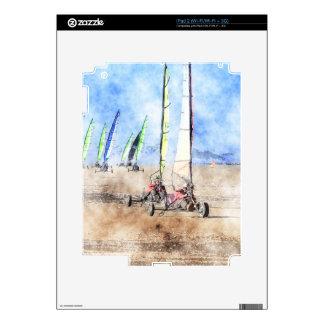 Blokart Racers on the Beach Skins For iPad 2