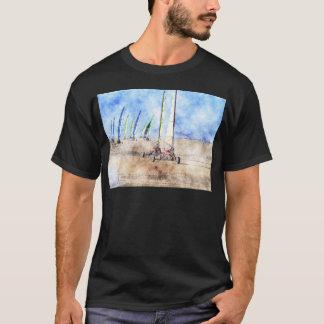 Blokart Racers on the Beach T-Shirt