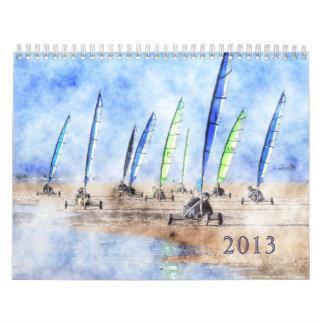 Blokart Racing Calendar 2013