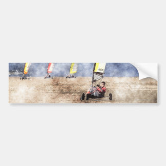 Blokart Racing Competition Bumper Sticker