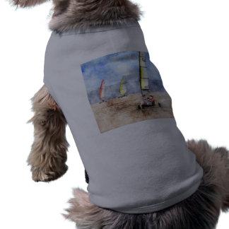 Blokart Racing Competition Doggie Tee Shirt