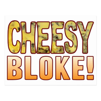 Bloke Blue Cheese Postcard