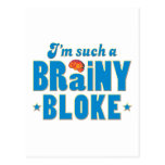 Bloke Brainy, Such A Post Cards