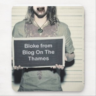 bloke from blog on the thames mouse pad