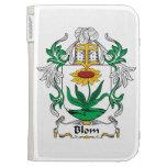 Blom Family Crest Kindle Cases
