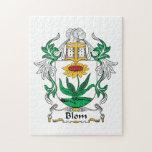 Blom Family Crest Puzzle