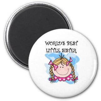 Blond Best Little Sister Magnet