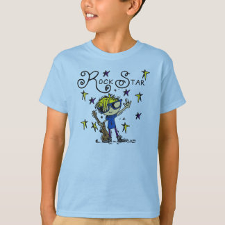 Blond Boy Rock Star T-Shirt