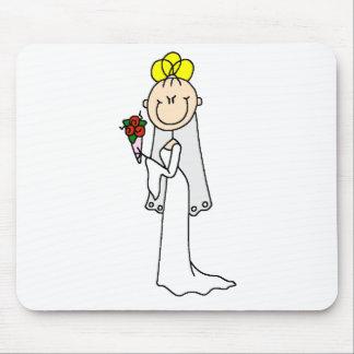Blond Bride Mousepad