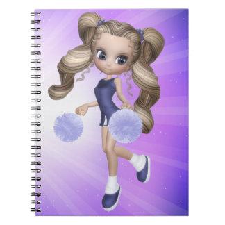Blond Cheerleader Notebook