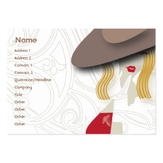 Blond - Chubby Business Card