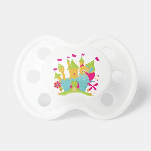 Blond Fairy Princess Baby Pacifier
