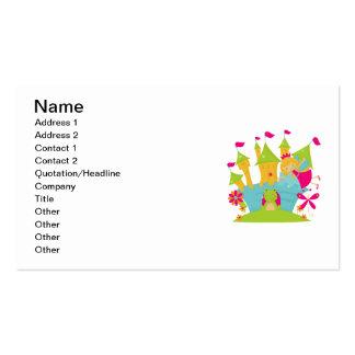 Blond Fairy Princess Business Card Templates