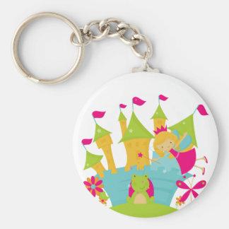 Blond Fairy Princess Keychain