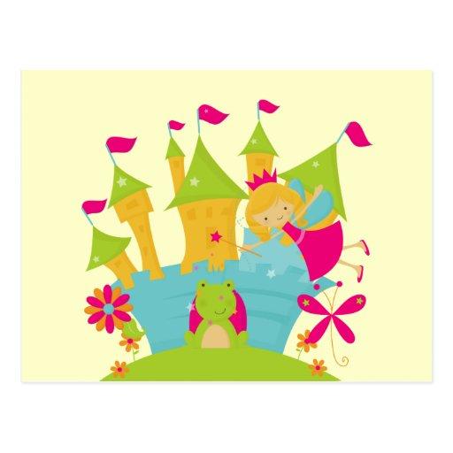 Blond Fairy Princess Post Card