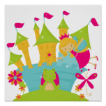 Blond Fairy Princess Posters
