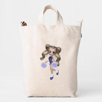Blond Girl Cheerleader BAGGU Duck Bag