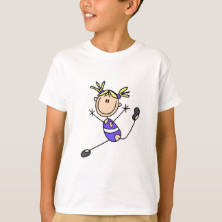 Blond Girl Gymnast Tshirts and Gifts