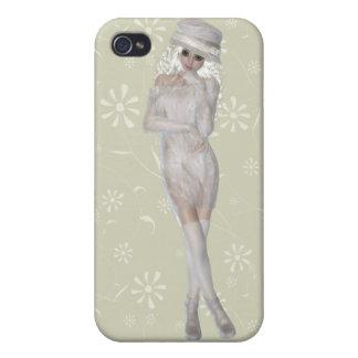 Blond Girl iPhone 4 Matte Finish Case