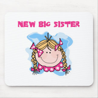 Blond Girl New Big Sister Mouse Pad